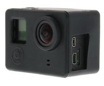 Zwart siliconen hoesje GoPro camera