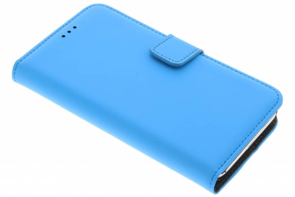 Mobiparts Premium Wallet Case voor de Samsung Galaxy J1 (2016) - Blauw