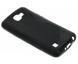 Zwart S-line TPU hoesje LG K4