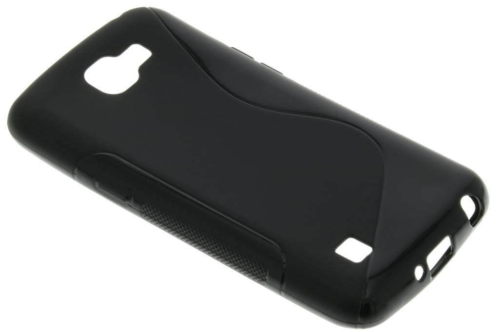 Zwart S-line TPU hoesje voor de LG K4