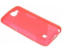 Rood S-line TPU hoesje LG K4