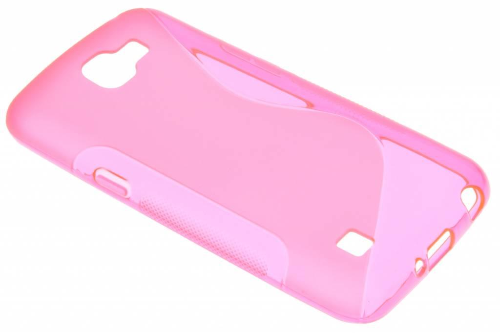 Rosé S-line TPU hoesje voor de LG K4