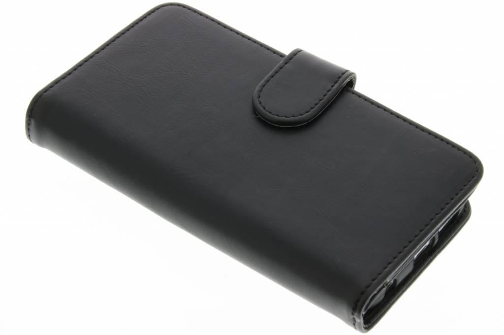 Zwarte 17-vaks wallet case voor de Samsung Galaxy S7 Edge
