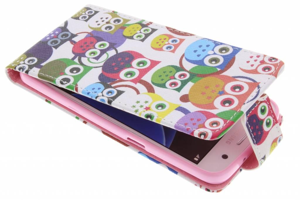 Hibou Boîtier Flip Tpu Design Pour Samsung Galaxy S7 Tbl9uuX9