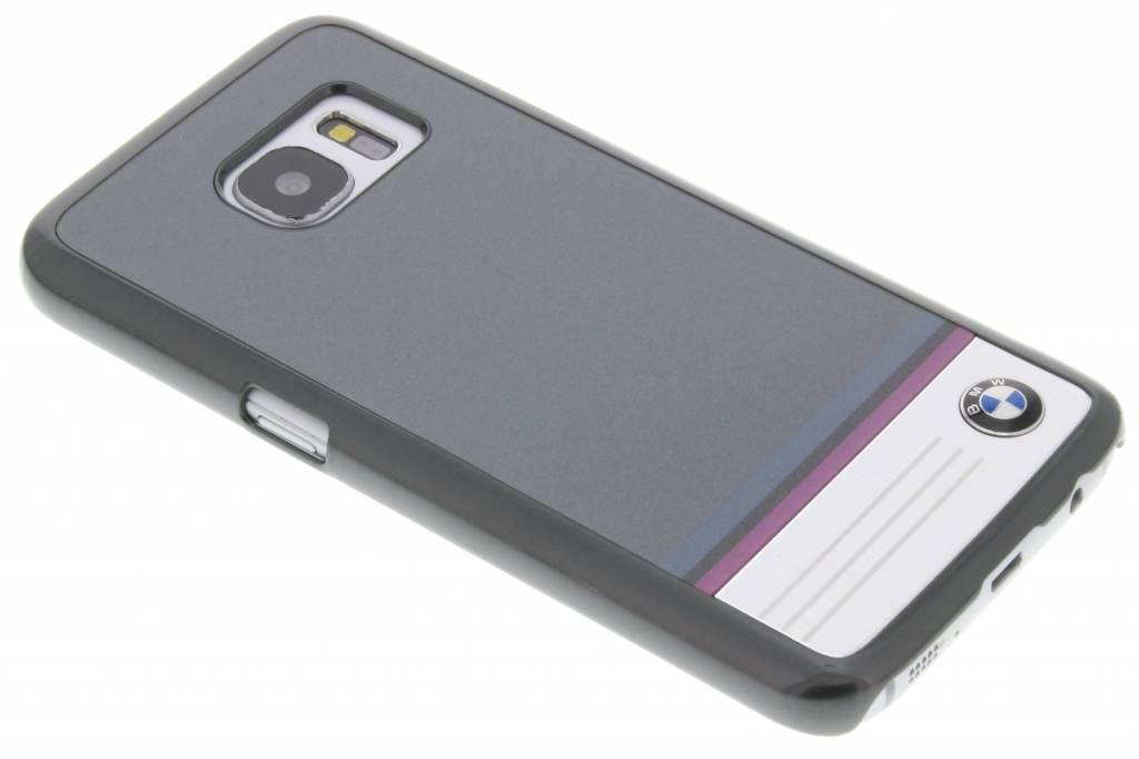 BMW Hard Case Aluminium Plate voor de Samsung Galaxy S7 - Grijs