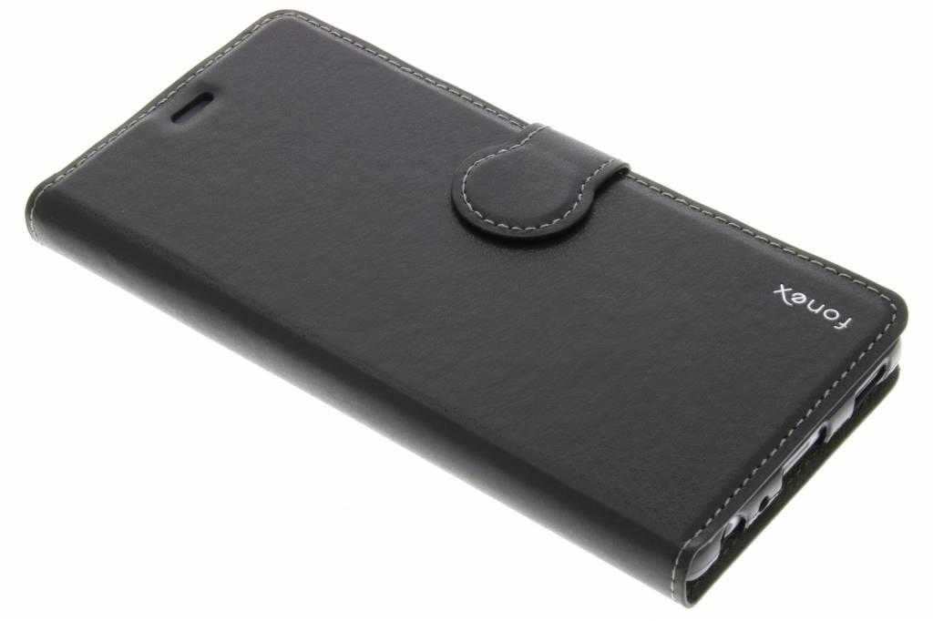 Fonex Identity Bookcase voor de Huawei P9 - Zwart