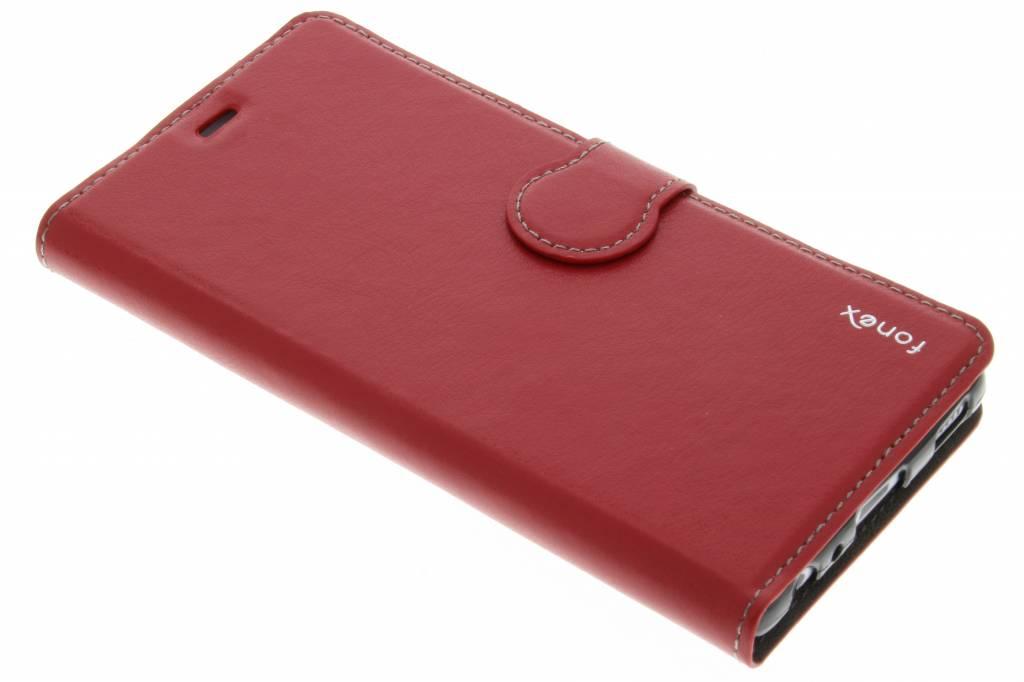 Fonex Identity Bookcase voor de Huawei P9 - Rood