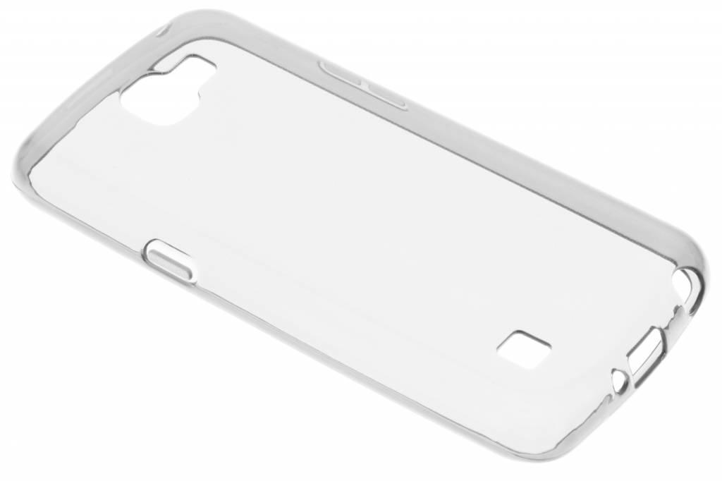 Transparante gel case voor de LG K4