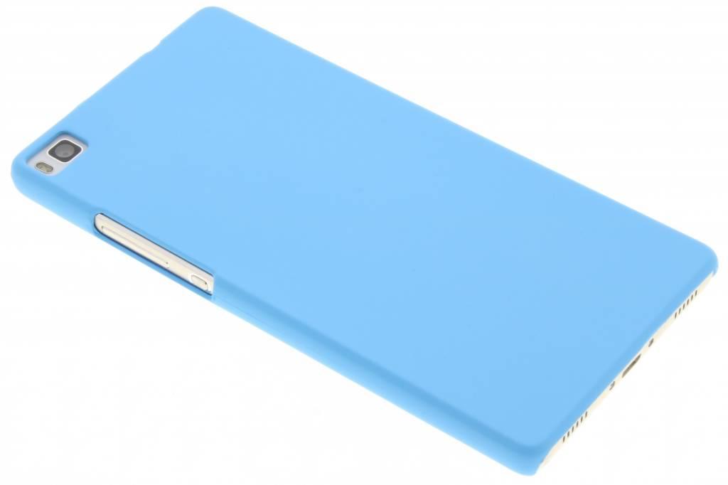 Turquoise effen hardcase hoesje voor de Huawei P8