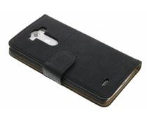 Zwart vintage booktype hoes LG G3