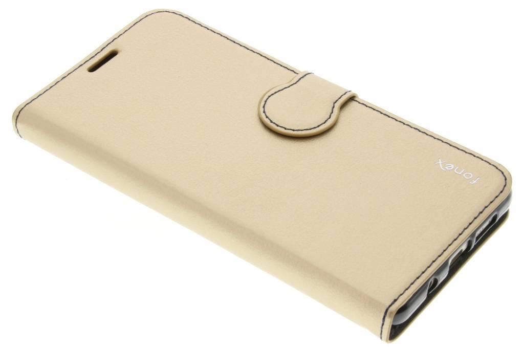 Fonex Identity Bookcase voor de Samsung Galaxy A5 (2016) - Goud
