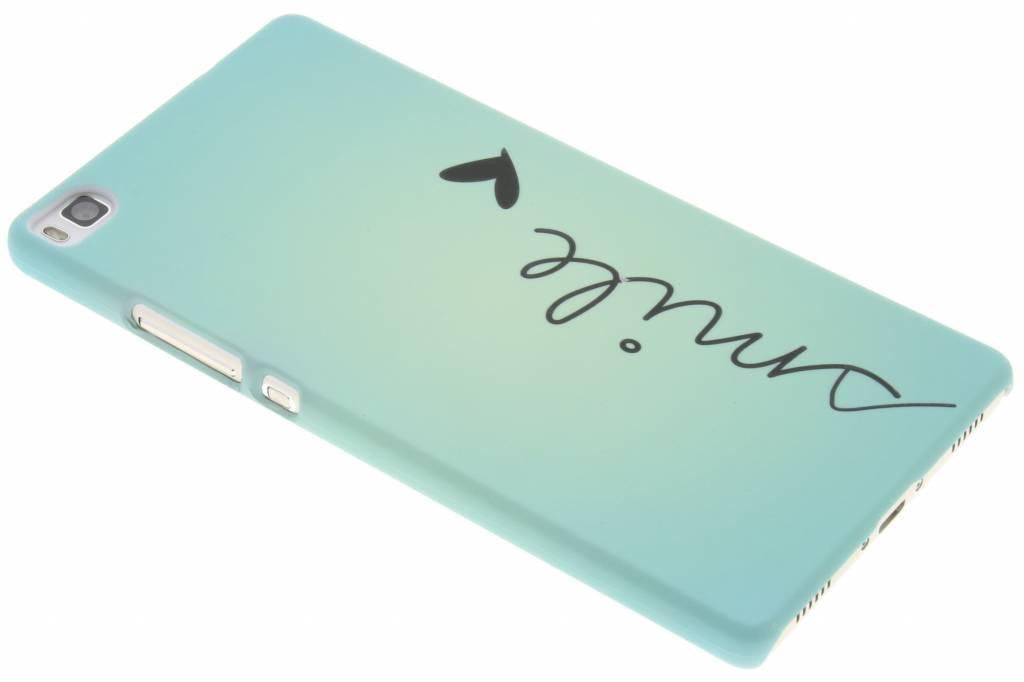 Smile design hardcase hoesje voor de Huawei P8