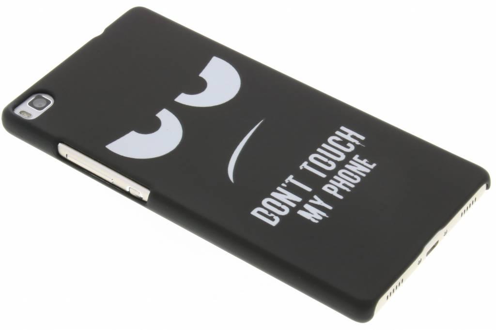 Don't touch design hardcase hoesje voor de Huawei P8