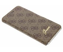 Guess Design booktype hoes iPhone 6(s) Plus - Bruin