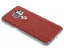 Ferrari Fiorano Hard Case Samsung Galaxy S7 - Rood