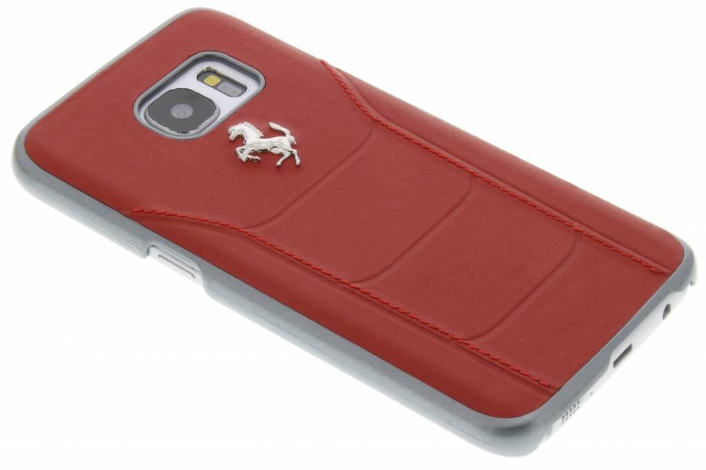 Ferrari Fiorano Hard Case voor de Samsung Galaxy S7 - Rood