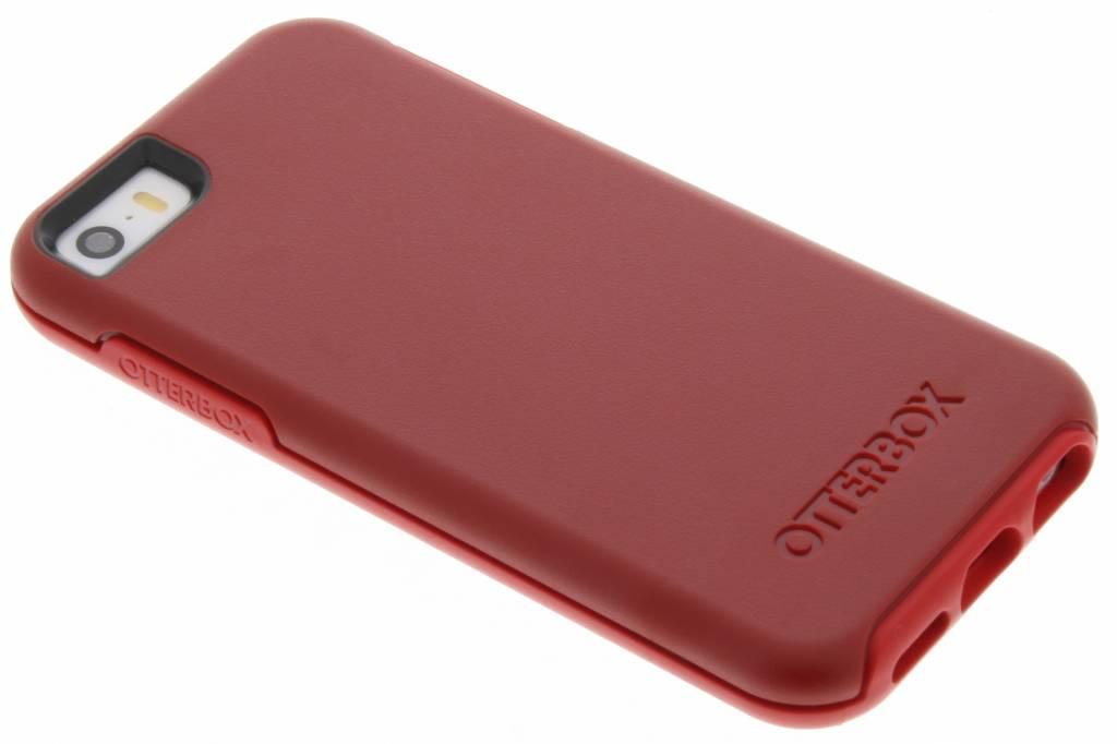 OtterBox Symmetry Series Case voor de iPhone 5 / 5s / SE - Rosso Corsa