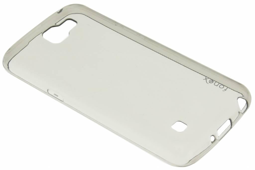 Fonex Invisible Ultra Thin Case voor de LG K4 - Grijs