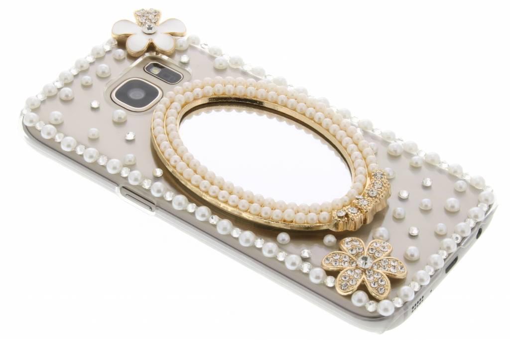 Spiegel glazen strass hardcase hoesje voor de Samsung Galaxy S7