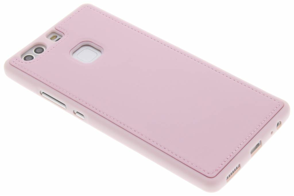 Roze lederen TPU case voor de Huawei P9 Plus