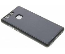Grijs metallic lederen TPU case Huawei P9 Plus