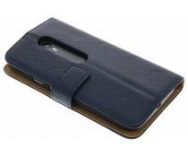 Kreukelleder booktype hoes Motorola Moto G 3rd Gen 2015