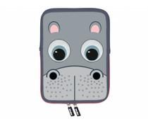 TabZoo Sleeve t/m 11 inch - Nijlpaard