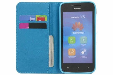 léphant Booktype Tpu Case Pour Huawei Y5 7XZ3wb