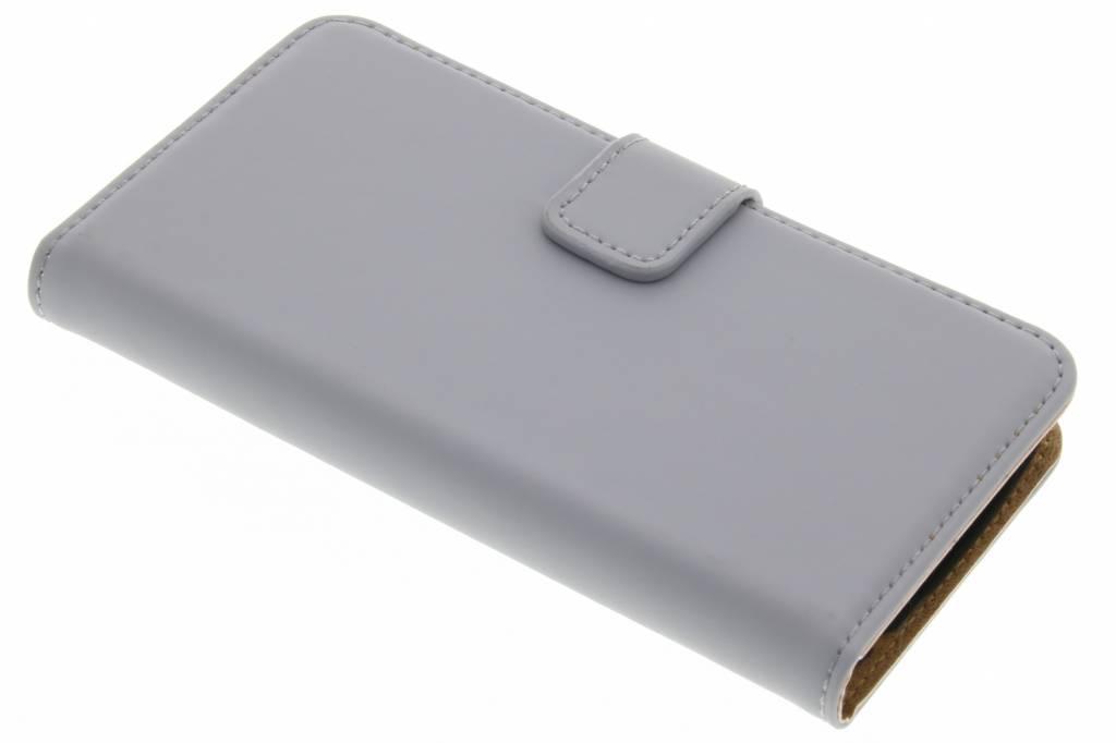 Selencia Luxe Book Case voor de LG K4 - Grijs