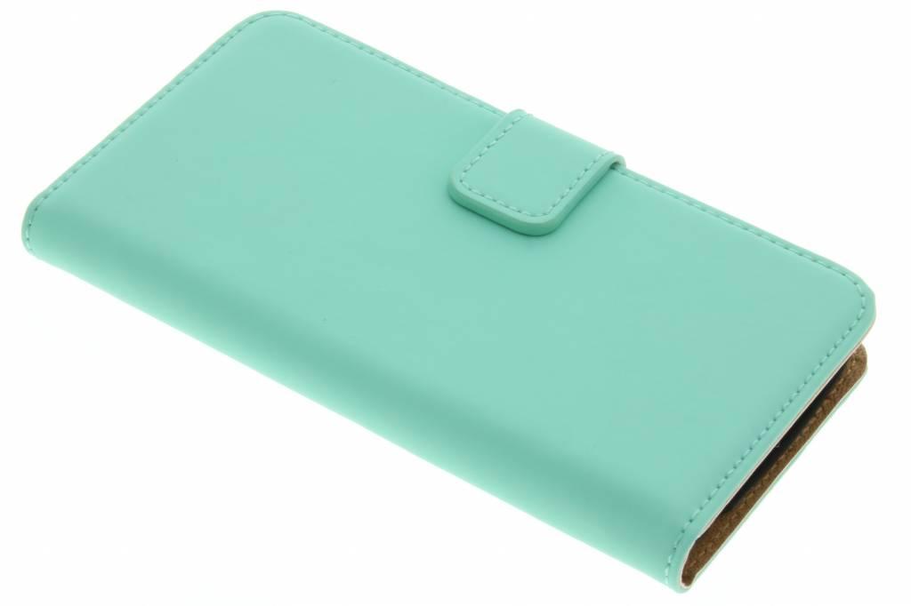 Selencia Luxe Book Case voor de LG K4 - Mintgroen