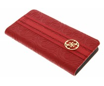 Guess Universele Heritage Book Case Maat L - Rood