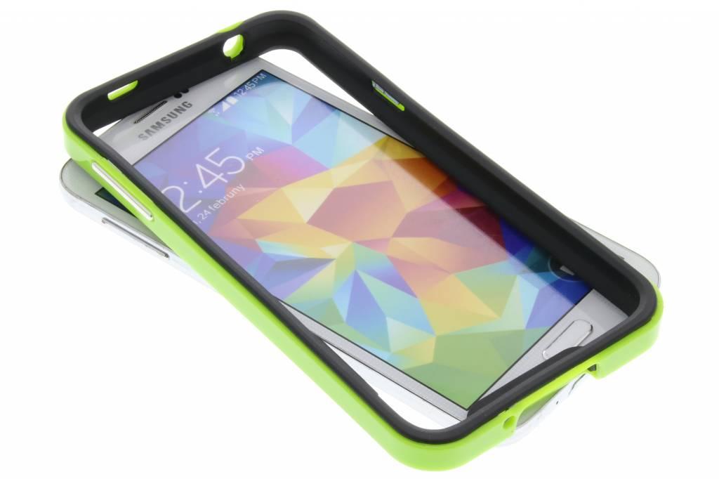 Groene bumper voor de Samsung Galaxy S5 (Plus) / Neo