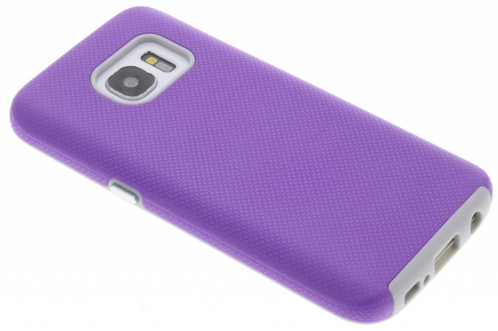 Paarse rugged case voor de Samsung Galaxy S7