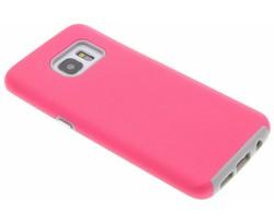Roze rugged case Samsung Galaxy S7 Edge