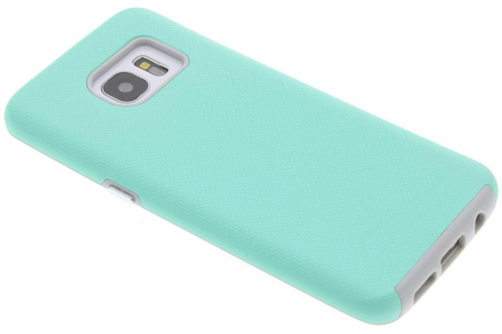 Mintgroene rugged case voor de Samaung Galaxy S7 Edge
