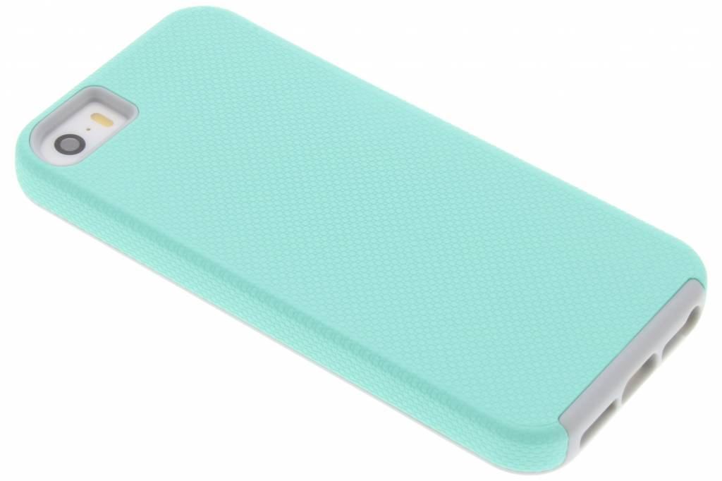 Mintgroene rugged case voor de iPhone 5 / 5s / SE