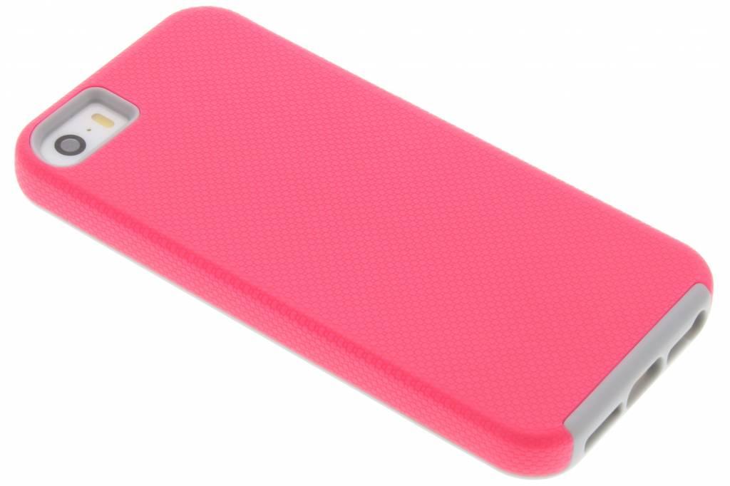 Roze rugged case voor de iPhone 5 / 5s / SE