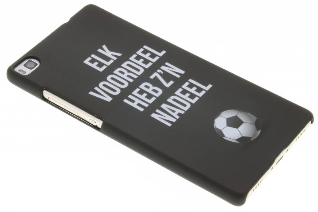 Elk voordeel hardcase hoesje voor de Huawei P8