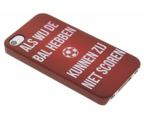 Cruijff quote hardcase hoesje iPhone 4 / 4s