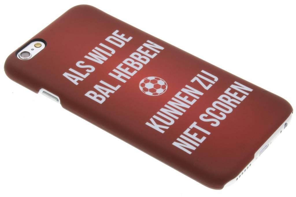 Als wij de bal hebben Cruijff quote hardcase hoesje voor de iPhone 6 / 6s