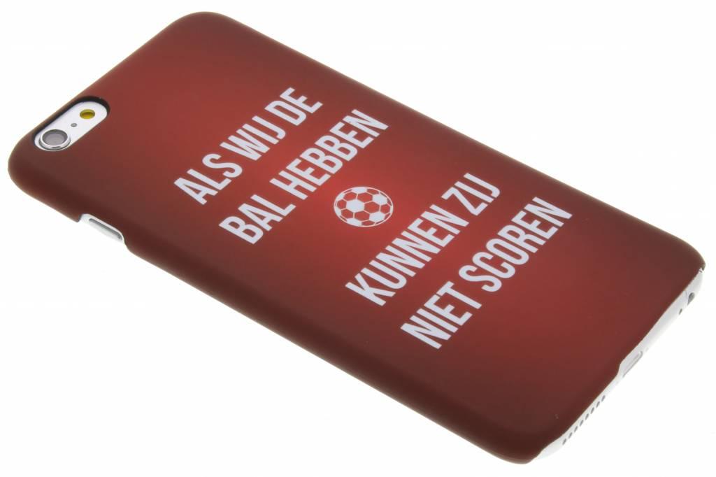 Als wij de bal hebben hardcase hoesje voor de iPhone 6(s) Plus