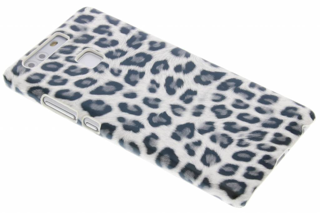 Wit luipaard design hardcase hoesje voor de Huawei P9