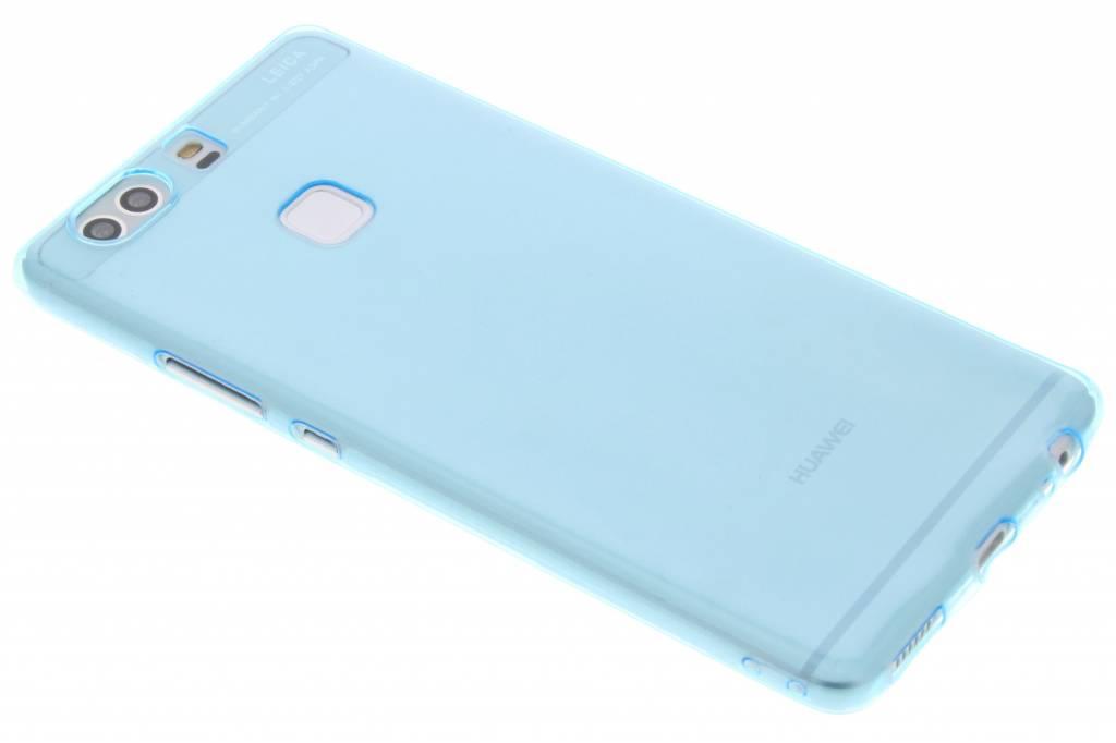 Blauw ultra thin transparant TPU hoesje voor de Huawei P9 Plus