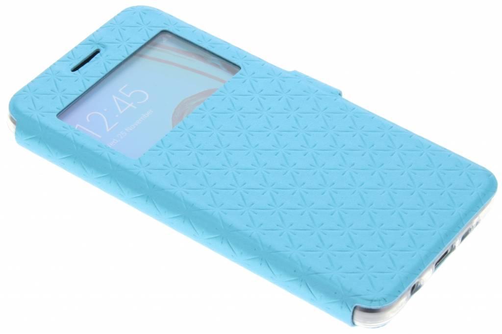 Blauw Rhombus hoesje voor de Samsung A3 (2016)