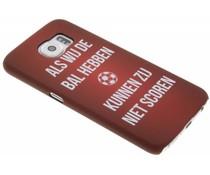 Cruijff quote hardcase hoesje Samsung Galaxy S6