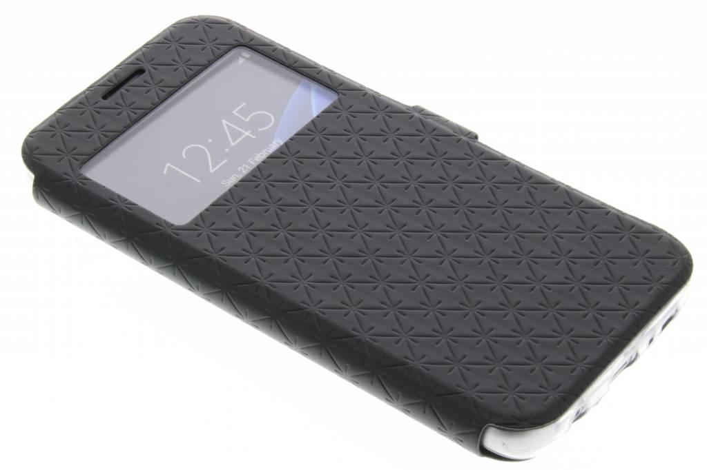 Zwart Rhombus hoesje voor de Samsung Galaxy S7