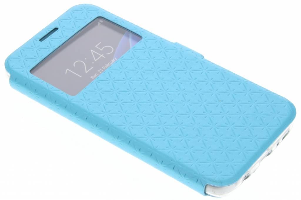Blauw Rhombus hoesje voor de Samsung Galaxy S7
