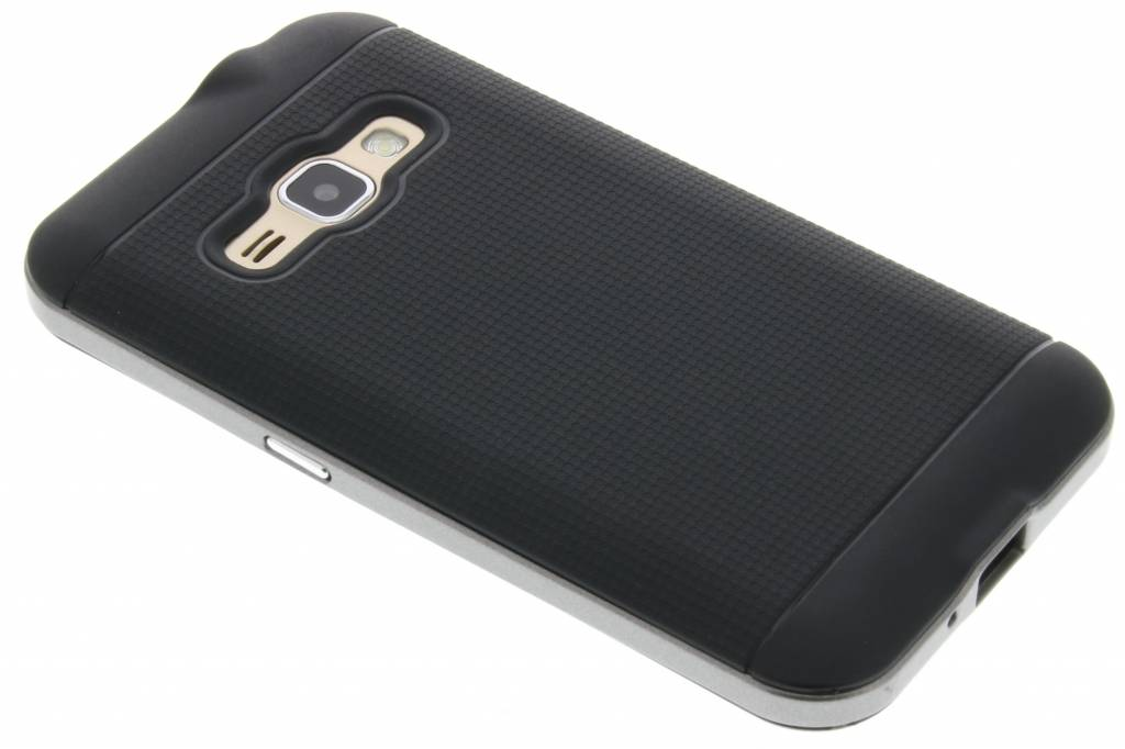 Grijze TPU Protect case voor de Samsung Galaxy J1 (2016)