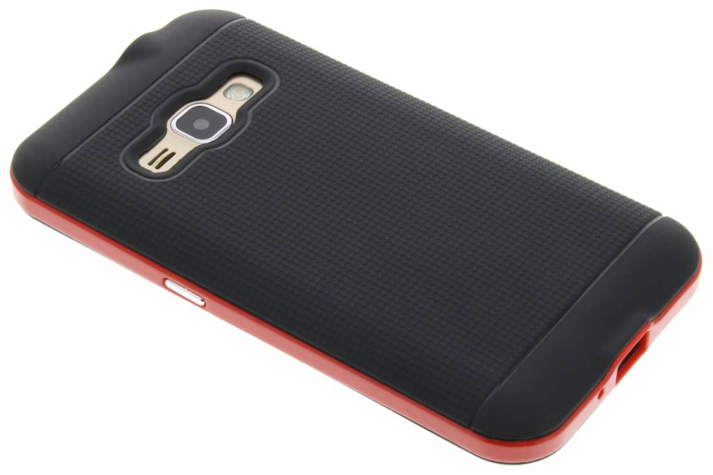 Rode TPU Protect case voor de Samsung Galaxy J1 (2016)