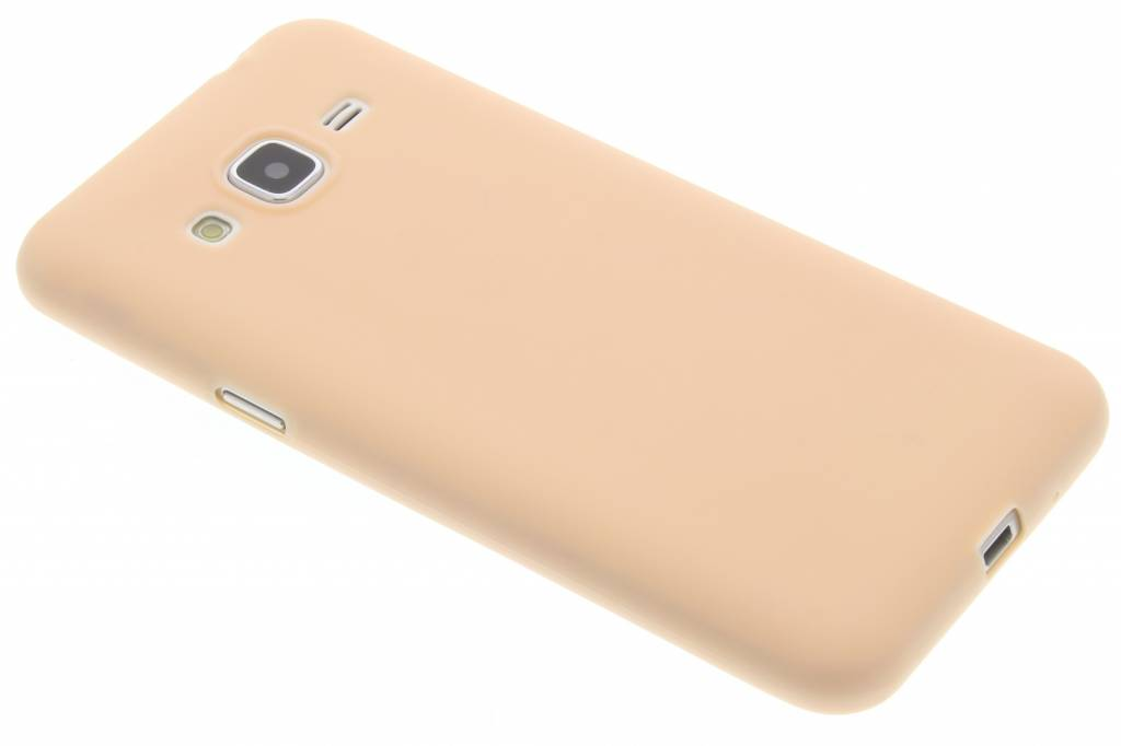 Poederroze Color TPU hoesje voor de Samsung Galaxy J3 / J3 (2016)